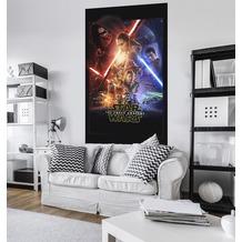 "Komar Vlies Panel ""Star Wars EP7 Official Movie Poster"" 120 x 200 cm"