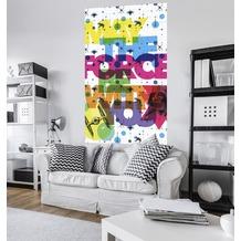 "Komar Vlies Panel ""Star Wars Pop Neon Geometrics Vader"" 120 x 200 cm"