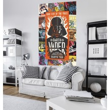 "Komar Vlies Panel ""Star Wars Rock On Posters"" 120 x 200 cm"