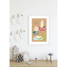 Komar Wandbild ABC Animal B 30 x 40 cm