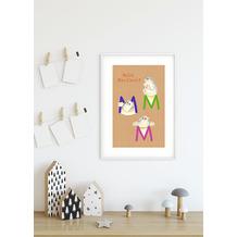 Komar Wandbild ABC Animal M 30 x 40 cm