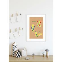 Komar Wandbild ABC Animal V 30 x 40 cm