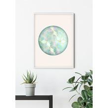Komar Wandbild Mosaik Circle Verde 30 x 40 cm