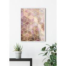 Komar Wandbild Mosaik Rosso 30 x 40 cm
