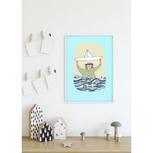 Komar Wandbild Paper Ship 30 x 40 cm
