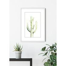 Komar Wandbild Saguaro Watercolor 30 x 40 cm