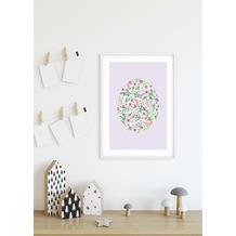 Komar Wandbild Shelly Patterns Lavender 30 x 40 cm