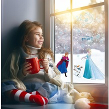"Komar Window-Sticker ""Frozen Snowflake"" 31 x 31 cm"
