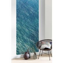 "Komar Digitaldruck Fototapete auf Vlies""Blaupause Panel"" 100 x 250 cm"