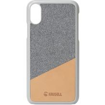 Krusell Tanum Cover, Apple iPhone XR, nude/grau