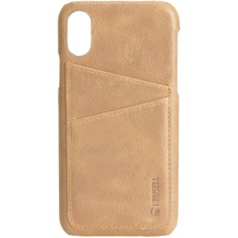 Krusell Sunne 2 Card Cover, Apple iPhone XS Max, nude