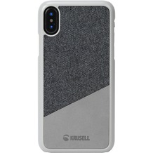 Krusell Tanum Cover, Apple iPhone XS Max, grau/grau