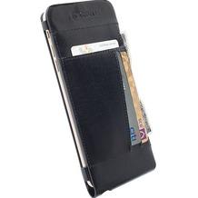 Krusell Echtleder FlipCover Kalmar für iPhone 6 Plus, Schwarz