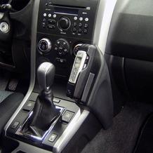 Kuda Lederkonsole für Suzuki Grand Vitara ab 10/05 Mobilia / Kunstleder schwarz