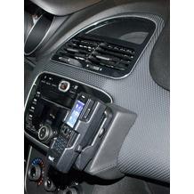 Kuda Lederkonsole für Fiat Punto EVO 11/2009 Echtleder schwarz