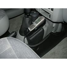 Kuda Lederkonsole für Nissan Kubistar ab 01/04 Kunstleder schwarz