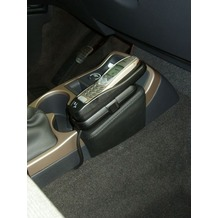 Kuda Lederkonsole für Renault Espace ab 11/02 bis 03/06 Kunstleder schwarz