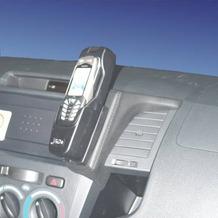 Kuda Lederkonsole für Toyota Hilux ab 08/05 Echtleder schwarz