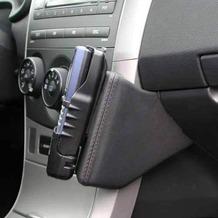 Kuda Lederkonsole für Toyota Corolla ab 03/07 Mobilia / Kunstleder schwarz