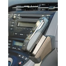 Kuda Lederkonsole für Toyota Prius (01.2009-) Echtleder schwarz