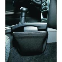 Kuda Lederkonsole Universal groß 200 X 125 mm Echtleder schwarz