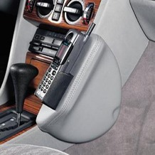 Kuda Lederkonsole DAIMLER BENZ E-Klasse / W124 6/85-5/95 Echtleder schwarz