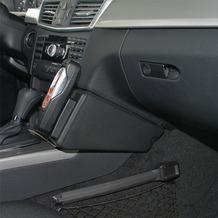 Kuda Lederkonsole für MB E-Klasse W212 03/2009- Echtleder schwarz