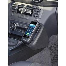 Kuda Lederkonsole für Mercedes GLK 7/2012 Echtleder schwarz