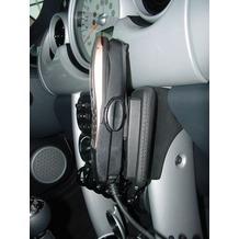 Kuda Lederkonsole für MINI ab Baujahr 09/2001 (mit Handschuhfach) Kunstleder schwarz