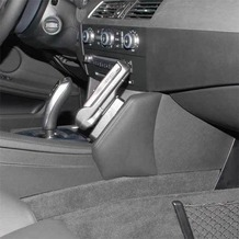 Kuda Lederkonsole für BMW 5er (E60) ab 03/07 Echtleder schwarz