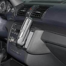 Kuda Lederkonsole für BMW 1er (E87) ab 03/07 Echtleder schwarz