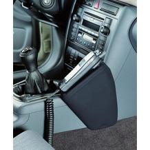 Kuda Lederkonsole AUDI A4 (B5)/RS 4 ab 2/99 langer Ascher neue Form Kunstleder schwarz