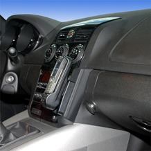Kuda Lederkonsole für Opel GT ab 04/2007 Echtleder schwarz