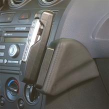 Kuda Lederkonsole für Ford Fiesta ab 11/05 - 09/08 Mobilia / Kunstleder schwarz