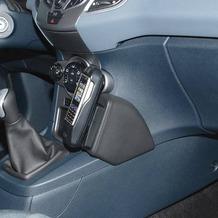 Kuda Lederkonsole für Ford Fiesta ab 10/08 Mobilia / Kunstleder schwarz
