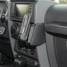 Kuda Lederkonsole für Jeep Wrangler ab 07 Echtleder schwarz