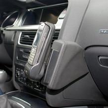 Kuda Lederkonsole für Audi A4 ab 11/07 Echtleder <grau> (L36223)