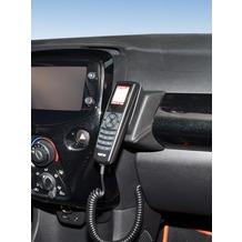 Kuda Lederkonsole für Citroen C1 Peugeot 108/ Toyota Aygo 2014 Kunstleder schwarz