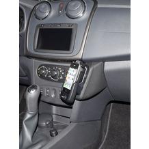 Kuda Lederkonsole für Dacia Sandeo ab 03/2012 Echtleder schwarz