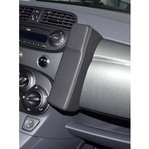 Kuda Lederkonsole für Fiat 500 ab 08/2007 Mobilia / Kunstleder schwarz
