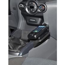 Kuda Lederkonsole für Ford EcoSport ab 2012 Kunstleder schwarz