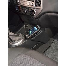 Kuda Lederkonsole für Hyundai i20 ab 09/2012 Mobilia/ Kunstleder schwarz