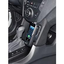 Kuda Lederkonsole für Hyundai Santa F Mobilia/ Kunstleder schwarz