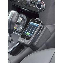 Kuda Lederkonsole für Land Rover Discovery 4 ab 2010 Echtleder schwarz