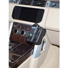 Kuda Lederkonsole für Land Rover Range Rover ab 09/2012 Kunstleder schwarz
