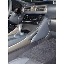 Kuda Lederkonsole für Lexus IS ab 2013 (XE3) Kunstleder schwarz