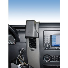 Kuda Lederkonsole für MB Sprinter/ VW Crafter ab 04/06 Mobilia / Kunstleder schwarz