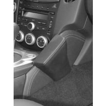 Kuda Lederkonsole für Nissan 370z ab 04/2009 Echtleder Schwarz