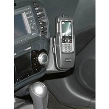 Kuda Lederkonsole für Nissan Juke ab 10.2010 Echtleder schwarz