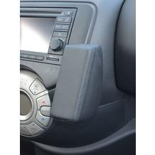 Kuda Lederkonsole für Nissan Micra K13 ab 03/2011 bis 2014 mit Navi Mobilia / Kunstleder schwarz